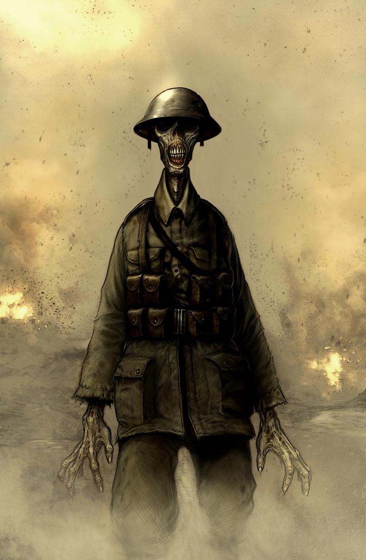 WW1 Zombie by Savagezombie (Deviantart)
