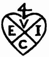 The late-18th century version of the genuine EIC trademark.